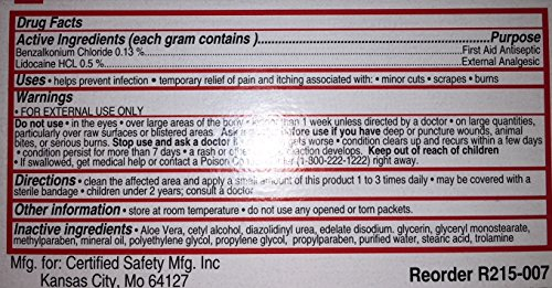 Burn Cream by Certified Manufacturing 215-007 by Certified-Burn Cream (Image #3)