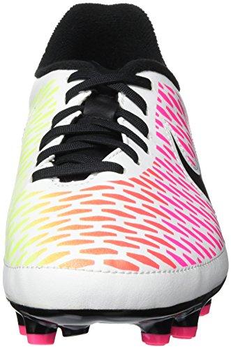 Nike Jr Magista Onda Fg, Botas de Fútbol Unisex Bebé Blanco (White / Black-Pink Blast-Volt)