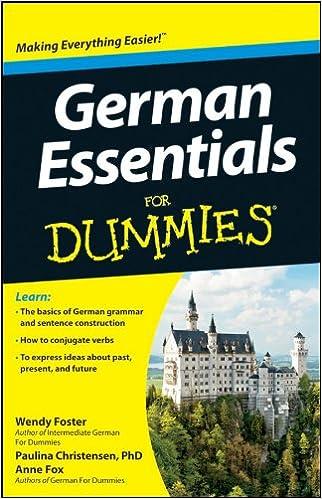 German Essentials For Dummies