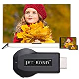 Jet-Bond(TM) YZD-0852 Wireless TV Dongle for iPhone, iPad, Mac, Airplay Widi Adapter Receiver Compatible for DLNA, HDMI 1080P iOS