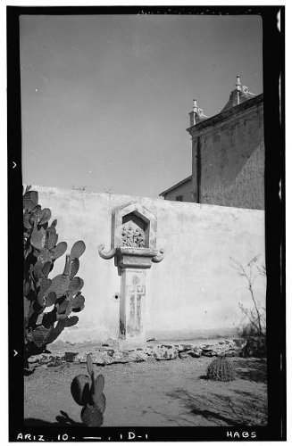 Photo: San Xavier del Bac Mission,Mission Road,Tucson,Pima County,AZ,Arizona,HABS,56