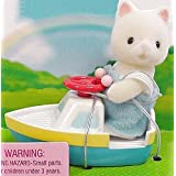 Calico Critters - Baby Carry Case - Cat and Toy Boat