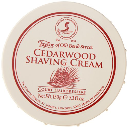 (Taylor of Old Bond Cedarwood Shaving Cream, 0.33 Pound)