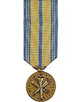 United States Armed Forces Mini Medal - USCG & National Guard Reserve