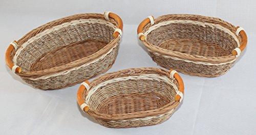 RT450100-3: Wicker/Rattan Bread or Stora