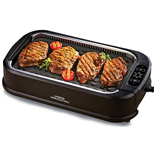 Tristar PSG-TR Power Smokeless Grill By Tristar As Seen On TV w/PAF PRO Pizza Kit- 4 pc set by Tristar (Image #3)
