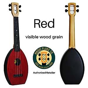 FLEA Ukulele (RED, Concert) + FREE CASE