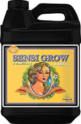 Sensi Grow Part - Advanced Nutrients pH Perfect Sensi Grow Part A Plant Nutrient, 10L