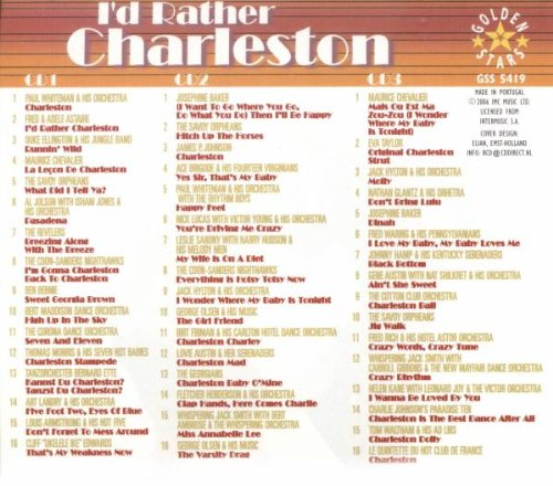 I'd Rather Charleston / Various