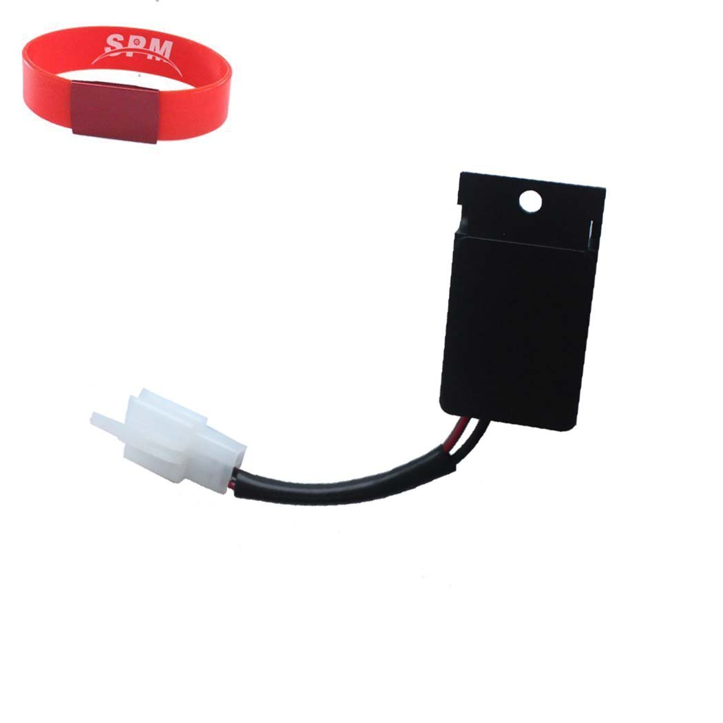 SPM 2-Pin LED Flasher Relay for Kawasaki W650 EJ650 Ninja 1000 250R 500R ZX10R ZX11 ZX12R ZX14 ZX7R ZX9R Vulcan 500 800 900