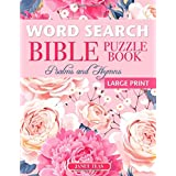 Word Search Bible Puzzle Book: Psalms and Hymns (Large Print) (Finding Faith Series)