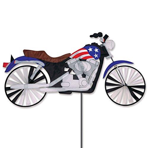- 47 In. Motorcycle Patriotic Spinner