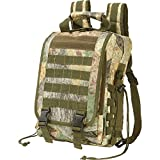 Extreme Pak Invisible Camo Water-Resistant Heavy-Duty Tactical Backpack