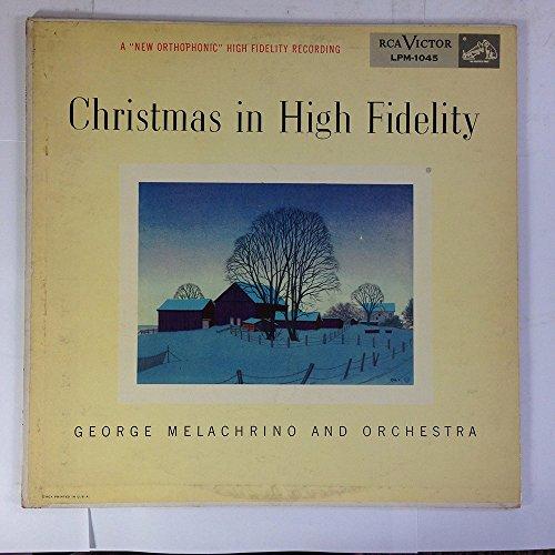 Christmas High Fidelity George Melachrino product image