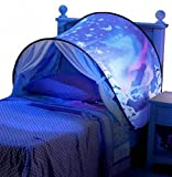 kids playhouse bed - //DreamTents Bed Tent Playhouse Snowflakes - Twin Size