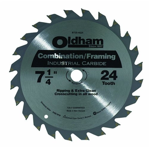 Oldham B7254524-10 Industrial Carbide Tipped Circular Blade, ()