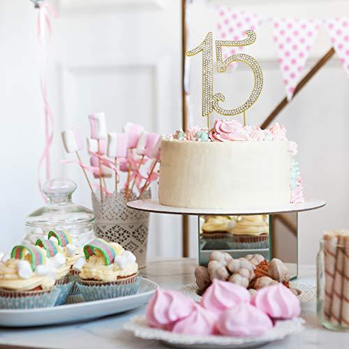 Wondrous 15Th Birthday Or Anniversary Party Decoration Ideas Perfect Personalised Birthday Cards Veneteletsinfo