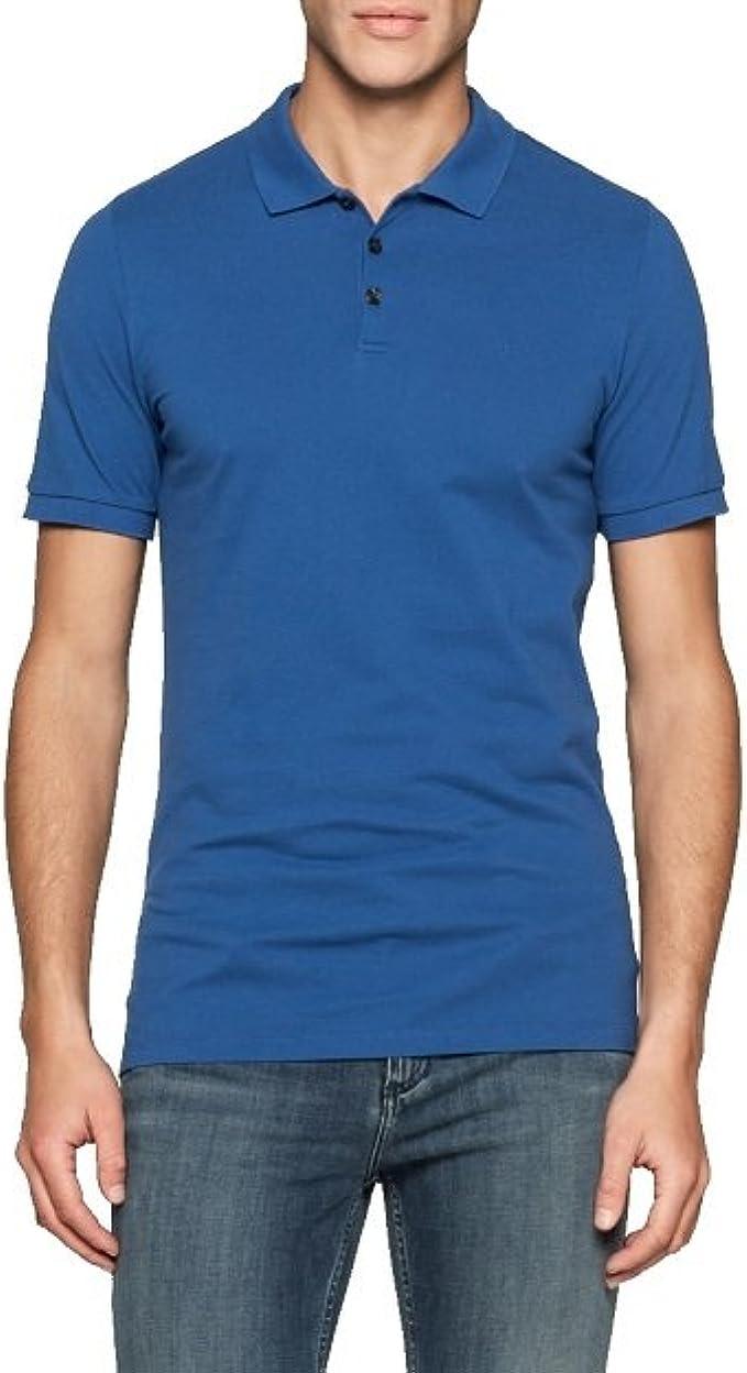 Calvin Klein J3ej303832 Polo, Azul (Monaco Blue), XX-Large para ...