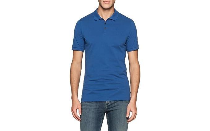 Calvin Klein J3ej303832 Polo, Azul (Monaco Blue), X-Large para ...