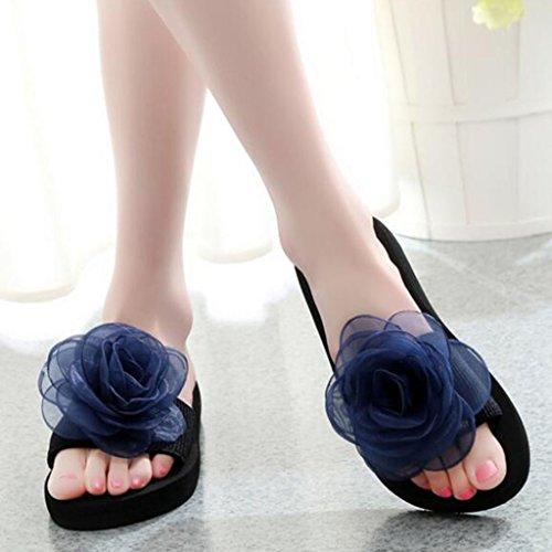 Pantuflas Botín Grueso Mujeres De Eu38 Blue Zapatos color cn38 Chanclas Orange Tamaño Antideslizantes 5 Sandalias Y Playa Muma Verano uk5 8vnAwqYFx0