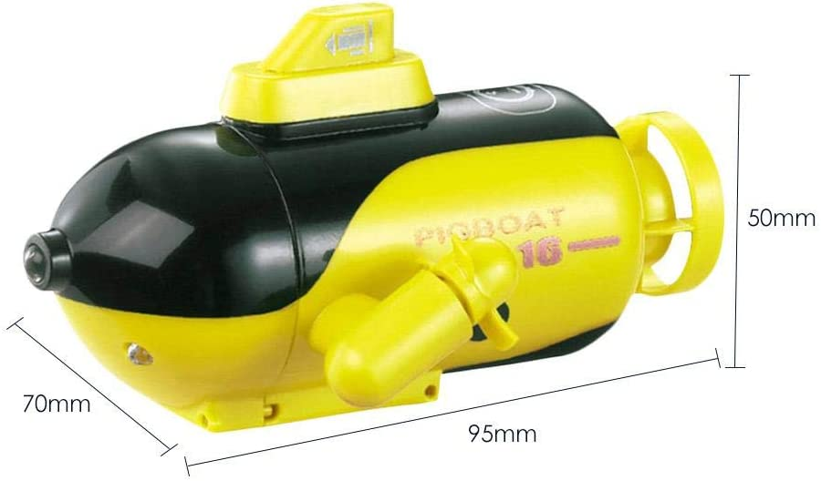 Mini Rc Boat Rc Submarine Remote Control Boat Ship Military Model Electric Water Toy Waterproof Diving Aquarium Childrens Gift