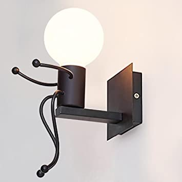 E27 Applique Murale Moderne Lumière Lampe Aike Métal De Mur thCdxsQrBo