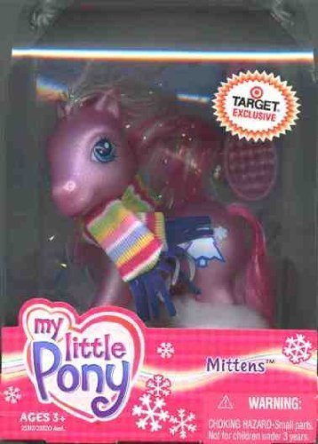 Target My Little Pony Costume (My Little Pony - Mittens - First Edition Target Winter Pony)