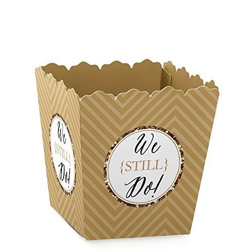 50th Anniversary Favor Boxes - We Still Do - Party Mini Favor Boxes - 50th Wedding Anniversary Party Treat Candy Boxes - Set of 12
