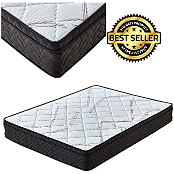 Amazon Com Premium Sleep Comfort 9 Inch Euro Top Mattress King Soft
