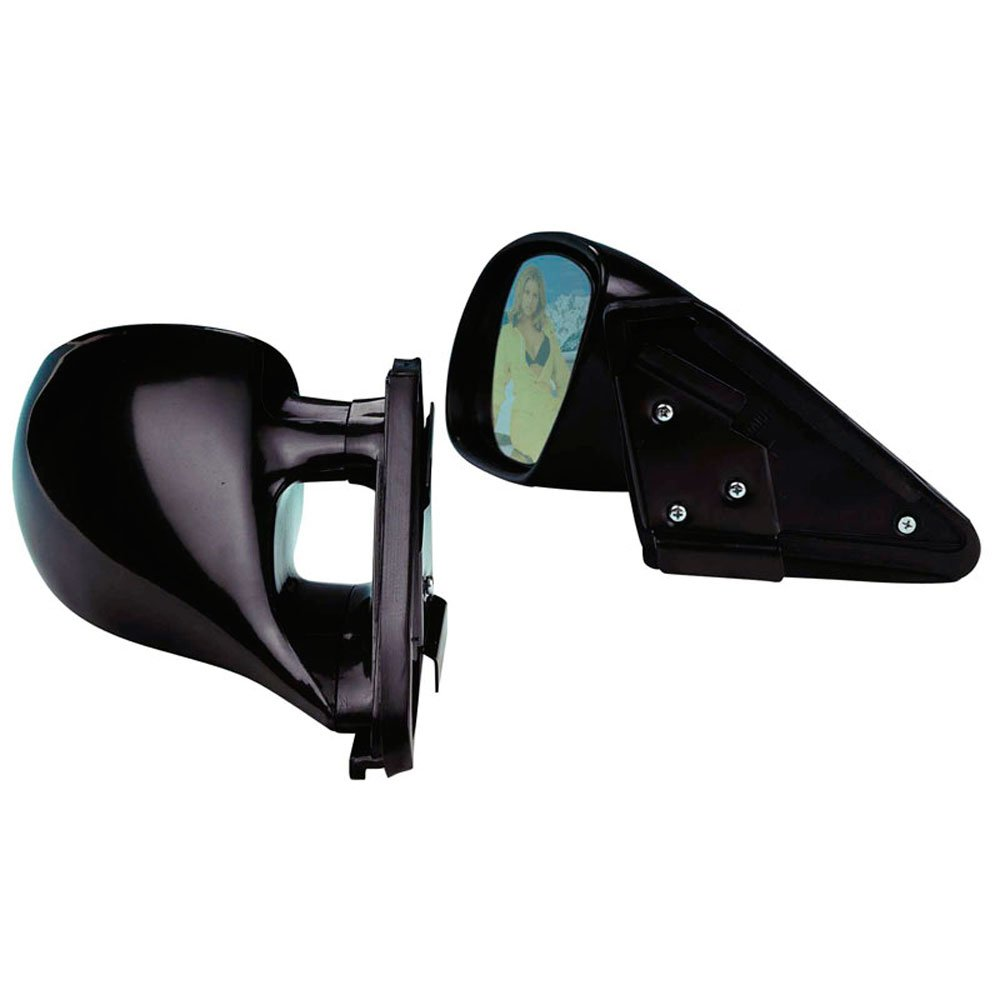 manual adjustment Set universal sport mirrors K3 black