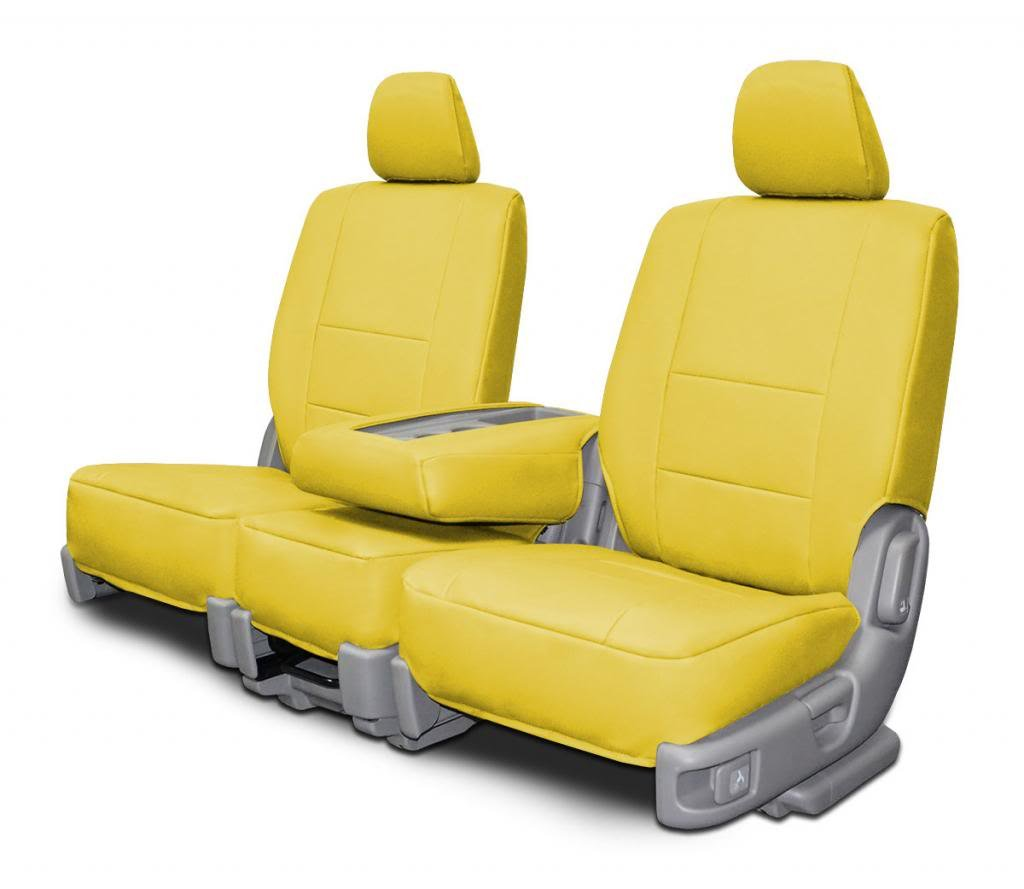 Custom Seat Covers for Nissan Pathfinder Rear Bench Beige Insert Leatherette