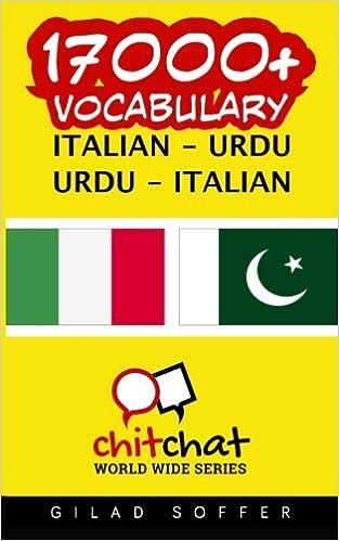 17000+ Italian - Urdu Urdu - Italian Vocabulary