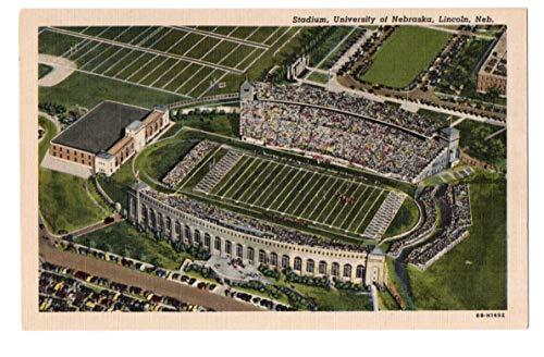 Vintage Postcard of University of Nebraska Stadium in Lincoln, Neb 143631 from Best Authentics