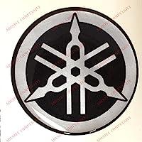 Escudo Logo Decal Yamaha, adhesivo, resina efecto 3d.