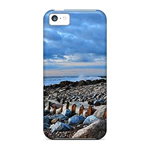 meilz aiaiCqVUElz3262VxxTd Case Cover Protector For Iphone 5c Rocky Coastal Beach Casemeilz aiai