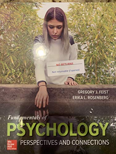 Fundamentals of Psychology: Perspectives and Connections