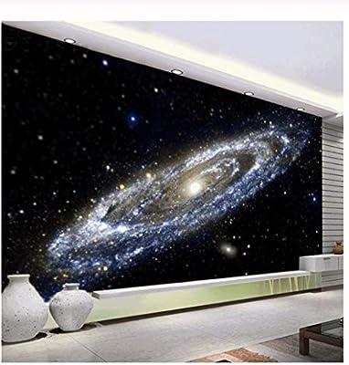 3d Mural Wallpaper Milky Way Nebula Universe Black Hole