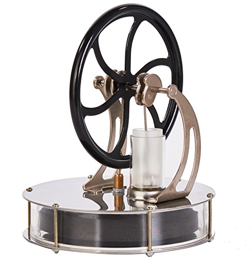 ature Stirling Engine Motor Steam Heat Education Model Toy Toy Great Gift for Boyfriend or Girlfriend, Parents, Kids (LT003) ()