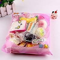 KFAWON Medium Mini Soft Bread Squeeze Toys Key Cute Squishy Pack ...