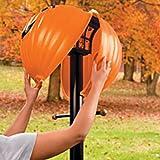 Thanksgiving Pumpkin Jack O Lantern Lamppost Cover