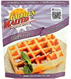 Carbon's Golden Malted Gluten Free Waffle and Pancake Mix, 32 Ounce
