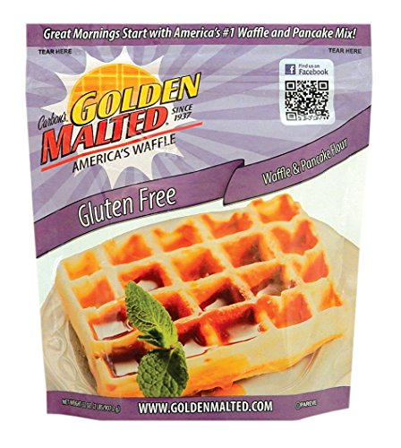 Carbon's Golden Malted Gluten Free Waffle and Pancake Mix, 32 Ounce (Waffle Mix Golden Malted compare prices)