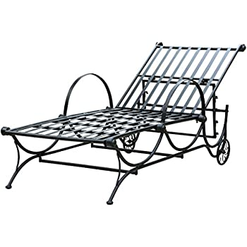 international caravan iron patio position chaise lounge cushions outdoor furniture armor cover sale
