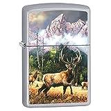 Zippo Blaylock Painting Elk Call to Challenge Lighter Custom Made