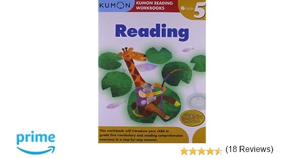 Amazon.com: Grade 5 Reading (Kumon Reading Workbooks ...
