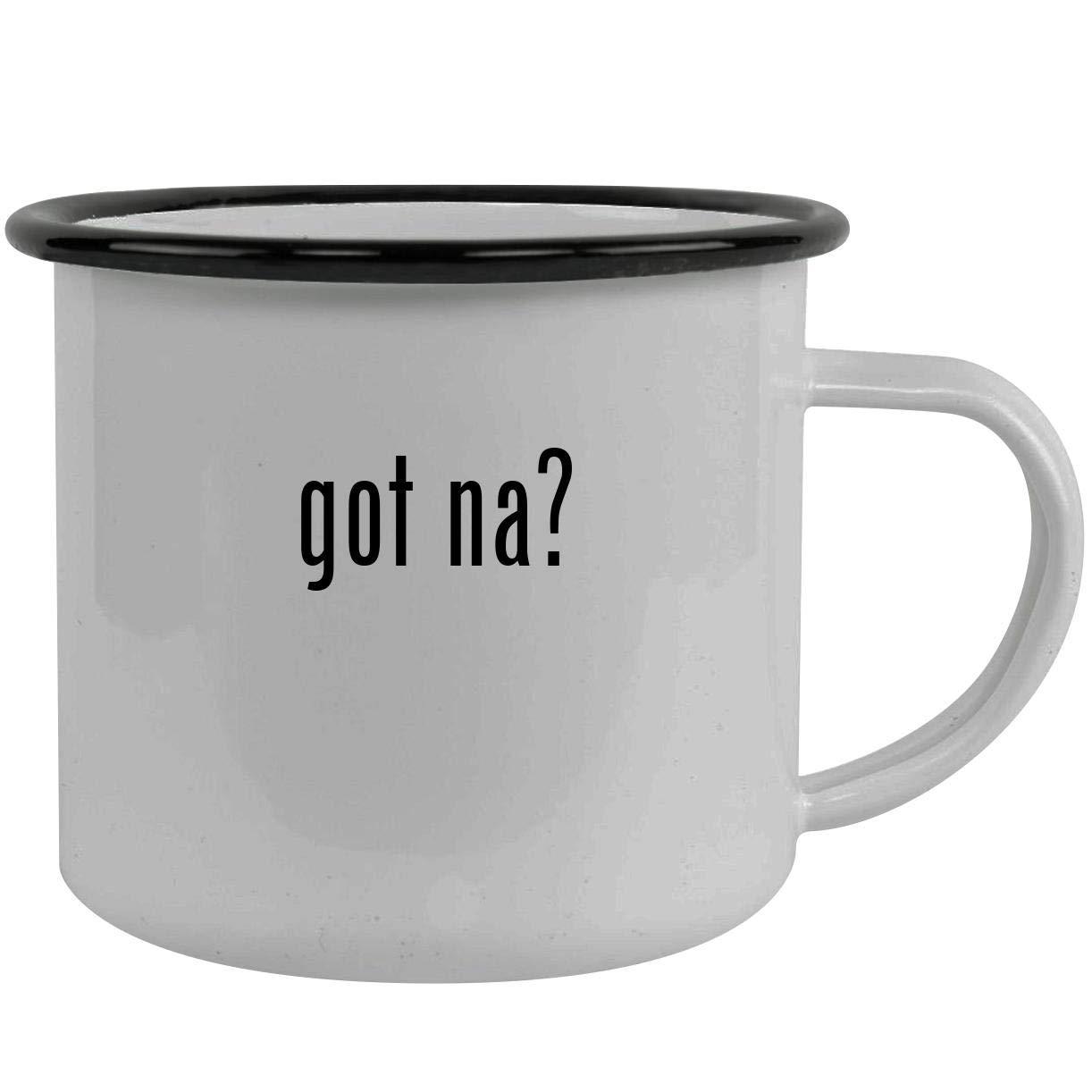 got Na? - Stainless Steel 12oz Camping Mug, Black