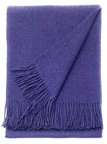 Alpaca Home | Cityscape Throw Blanket | 100% Pure Baby Alpaca Wool | 6.6 Feet Long X 4.25 Feet Wide | Hypoallergenic, Soft & Cozy Bedding (Alexandria)