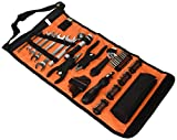 Black and Decker A7144-XJ Handy Roll-Up Tool Bag with Automobile Tools by BLACK+DECKER