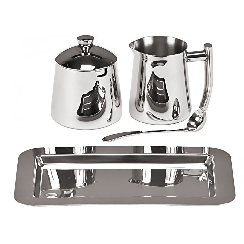 Frieling USA 18/10 Stainless Steel Creamer and Sugar Bowl Set by Frieling (Image #1)