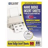 CLI92443 - Additional Laser/Inkjet Badge Inserts